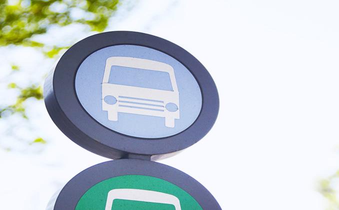 버스 노선도에 화살표가 더해져 정류장이 더 편리해지다