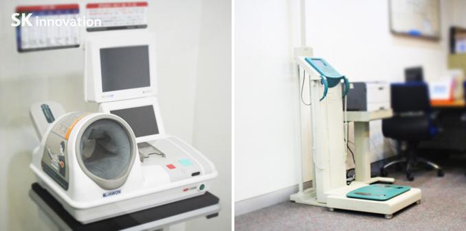 혈압측정기와인바디