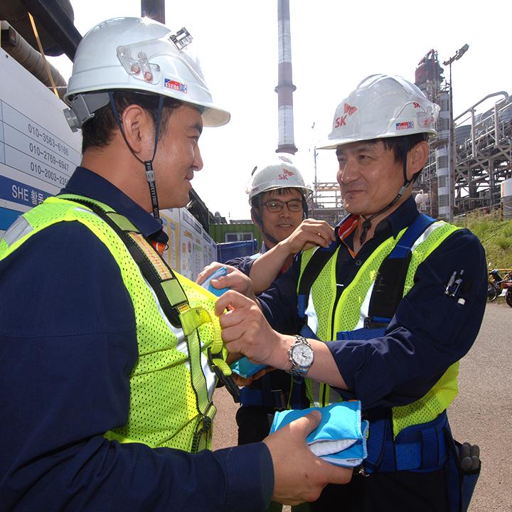 폭염주의보 발령! 무더위에 대처하는 울산 정유·석유화학 단지의 작업지침은?