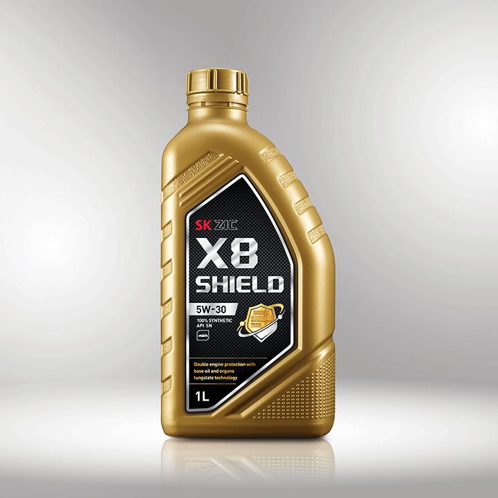 SK루브리컨츠, 이중보호 엔진오일 SK ZIC X8 SHIELD 출시!