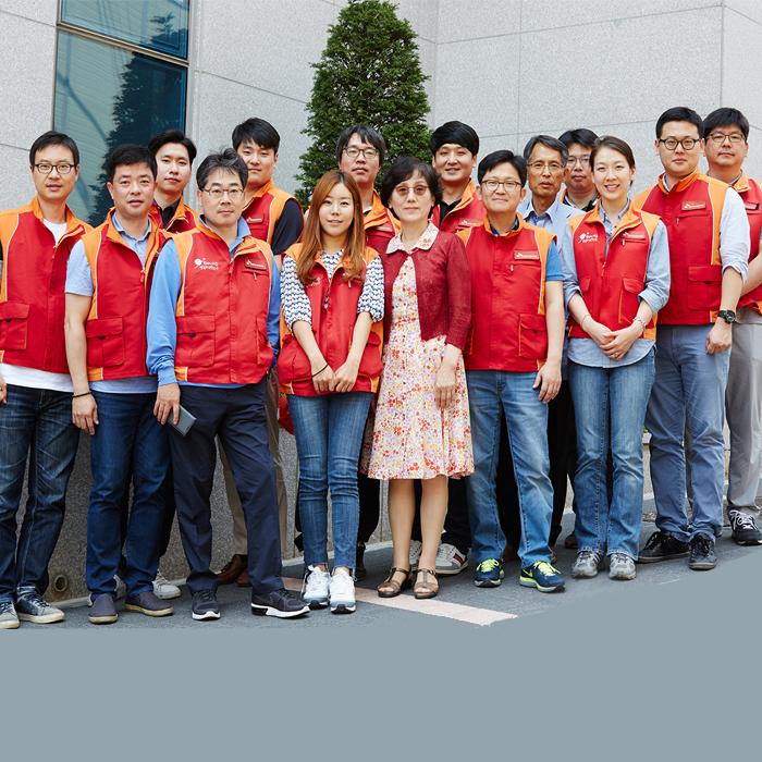 SK트레이딩 인터내셔널 임직원들, 하나된 아이들의 연결 고리가 되다!
