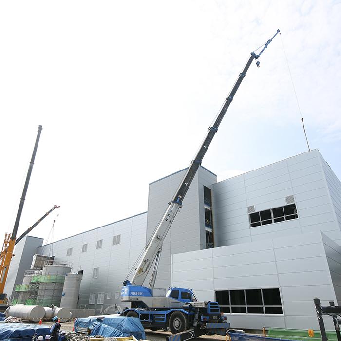 전기차 미래를 책임질 SK이노베이션 서산 배터리 공장 신축현장을 가다!