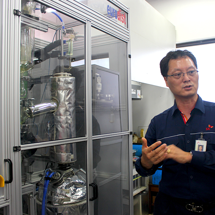 SK이노베이션 인턴사원의 SK 울산Complex 탐방기 - ②원유도입처 다변화의 주역, '원유분석실'을 가다