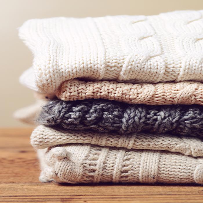 처음 모습 그대로, 겨울 옷 관리법 :)