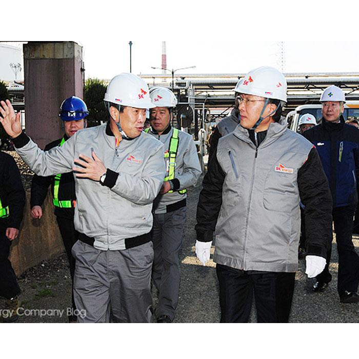 고용노동부 장관, SK 울산CLX의 수준 높은 안전문화를 경험하다