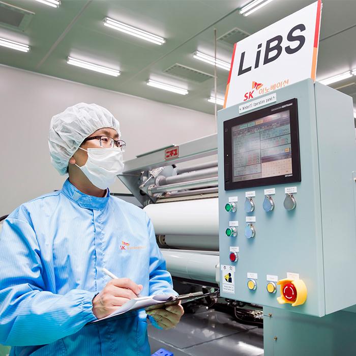 SK이노베이션, 리튬이온전지 분리막(LiBS) 생산 풀가동 - 10, 11호 라인 증설 완료