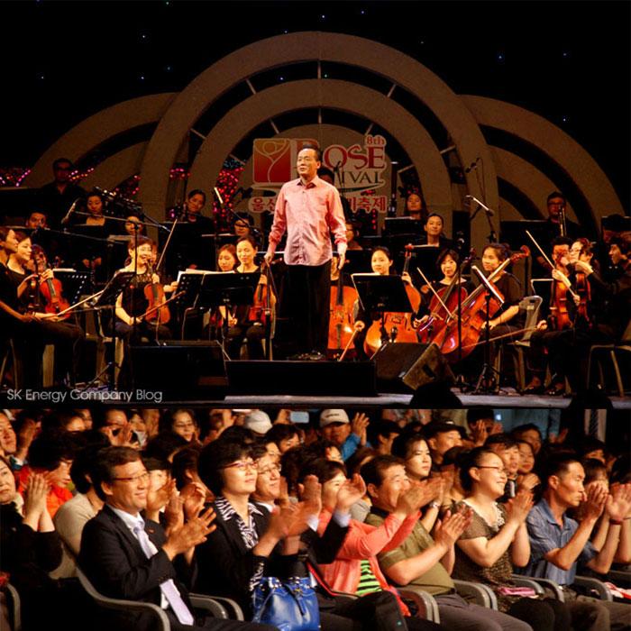 울산대공원 장미축제, 오케스트라의 환상 선율로 아름다운 피날레!