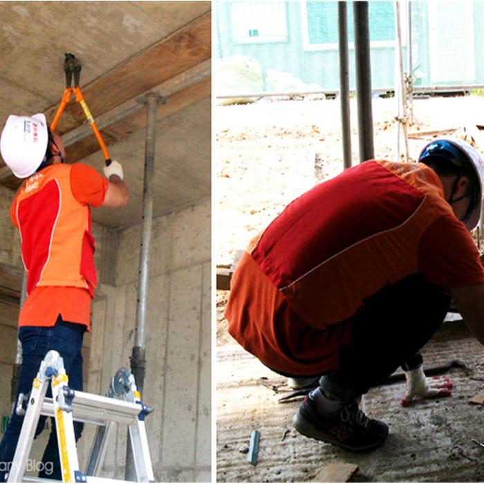 SK에너지와 함께한 해비타트 '사랑의 집 짓기 운동'