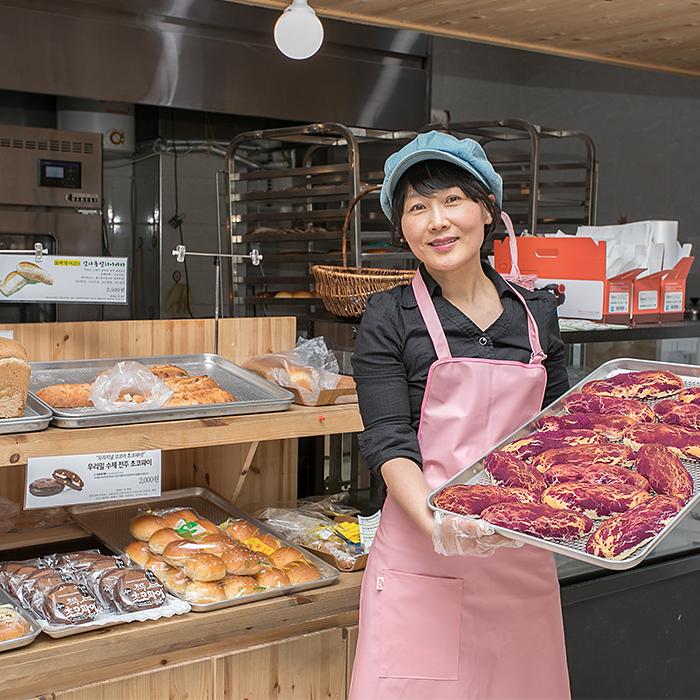 SK이노베이션과 함께하는 전주빵카페 3호점, 익산 '농부의 빵' 오픈