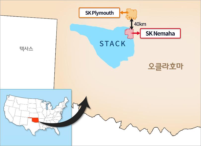 SK광구 지도