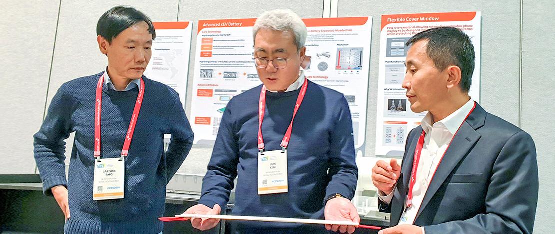 """'CES 2019' 현장서 전략 회의 연 SK이노베이션 """"'BM 혁신 가속화'로 SK이노베이션을 'Innovation(혁신)'하자"""""""