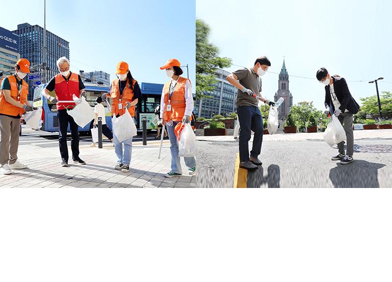 """""""아.그.위.그가 시즌3로 돌아왔다!"""" - SK이노베이션, '산해진미(山海眞美)' 플로깅으로 폐플라스틱 줍고 사회적가치 창출까지"""