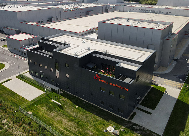 SK이노베이션, 그린론으로 '친환경 배터리 공장 증설 박차'